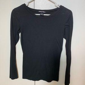 🎉SALE!!! Black long sleeve top - M